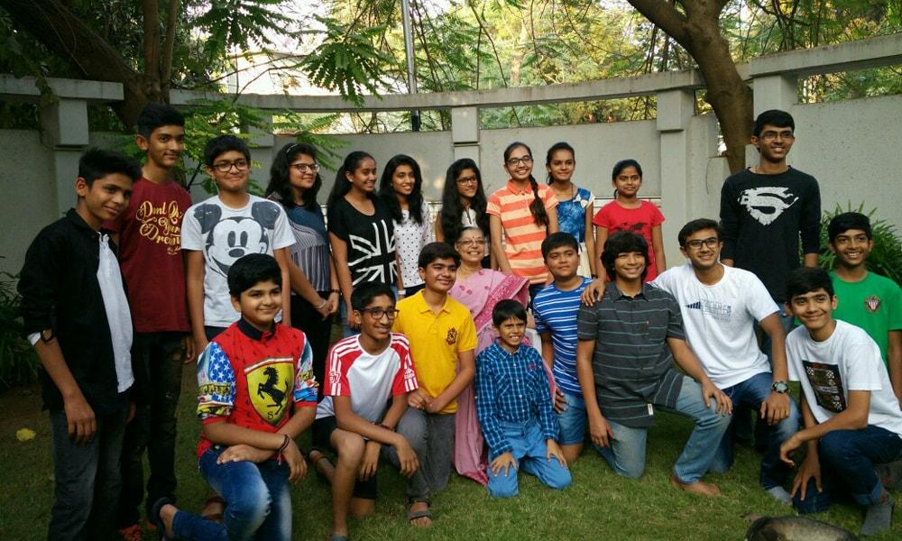 Sanskrit Students-min